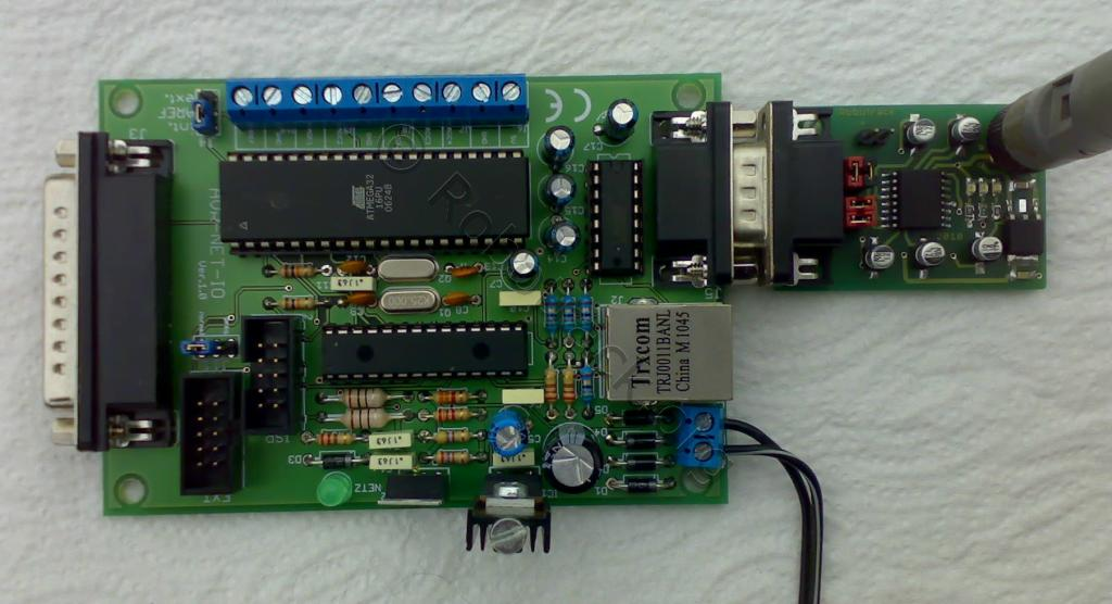 AVR-NET-IO am BTM Serial