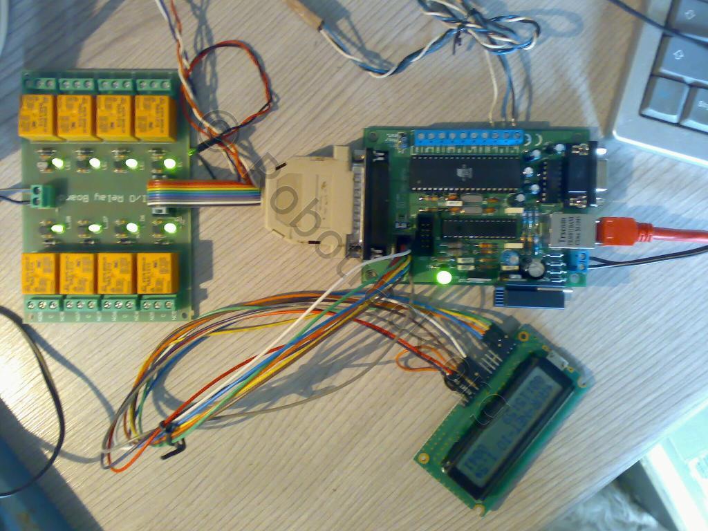 AVR-NET-IO / Relaiskarte